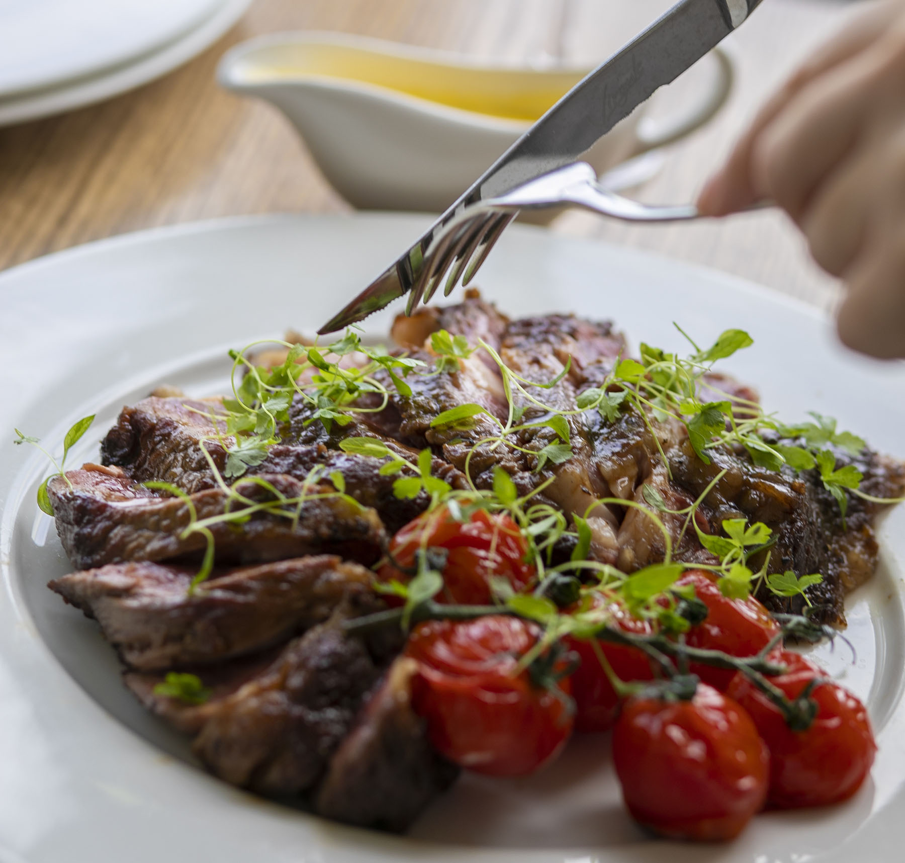 Mr White's English Chophouse Steak